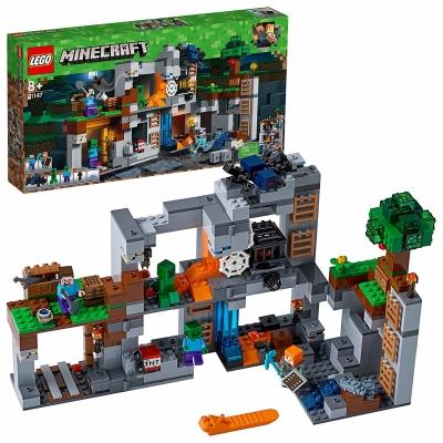 LEGO Minecraft Abenteuer in den Felsen